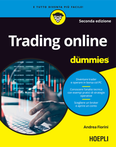 Trading online For Dummies Copertina del libro