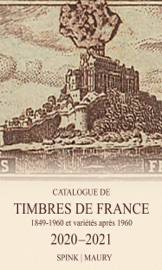 Catalogue de Timbres de France 2020-2021