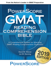 The PowerScore GMAT Reading Comprehension Bible book