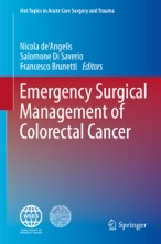 Emergency Surgical Management of Colorectal Cancer