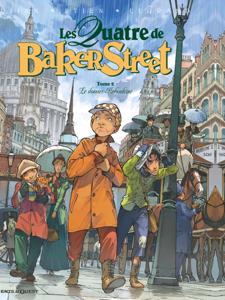 Les Quatre de Baker Street - Tome 02 La couverture du livre martien