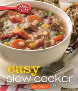 Easy Slow Cooker Recipes by Betty Crocker Book Cover