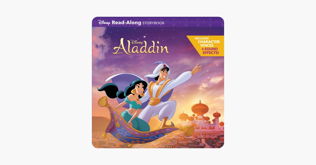 Aladdin Read-Along Storybook - Disney Book Group