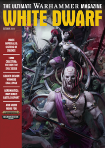 White Dwarf October 2019 Libro Cover