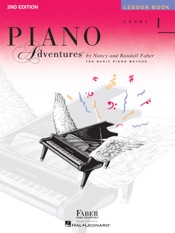 Piano Adventures  - Level 1 Lesson Book