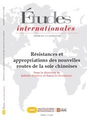 Études internationales. Vol. 49 No. 3, Automne 2018