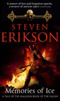 Steven Erikson - Memories of Ice artwork
