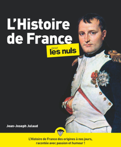 L'Histoire de France pour les Nuls, nouvelle édition Couverture de livre