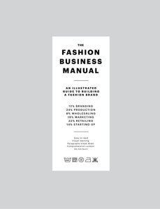 THE FASHION BUSINESS MANUAL Libro Cover