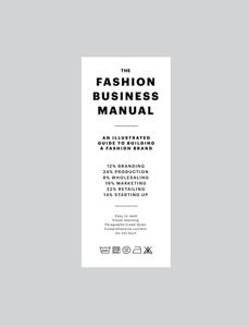 THE FASHION BUSINESS MANUAL Libro Cover