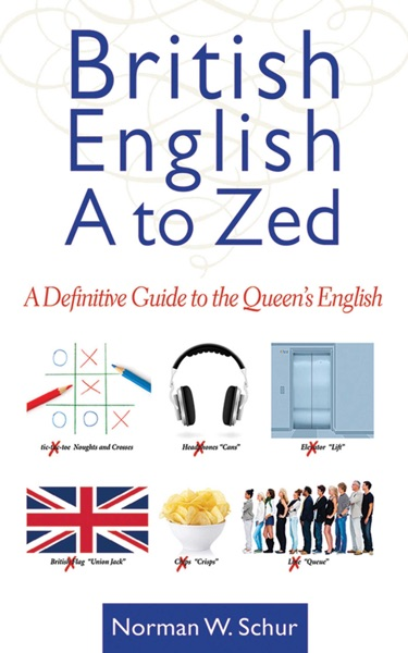 British English from A to Zed - Norman W. Schur book cover