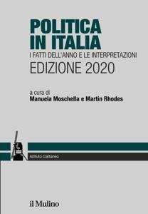 Politica in Italia. I fatti dell'anno e le interpretazioni. Edizione 2020 Book Cover