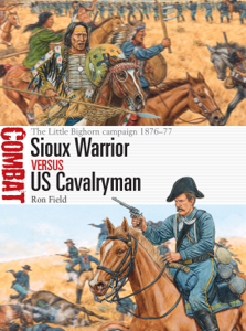 Sioux Warrior vs US Cavalryman La couverture du livre martien