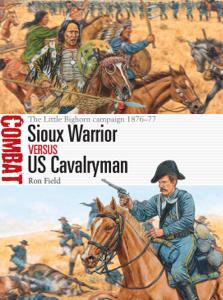 Sioux Warrior vs US Cavalryman La couverture du livre martien