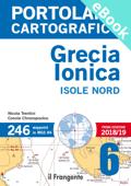 PORTOLANO CARTOGRAFICO 6 GRECIA IONICA ISOLE NORD