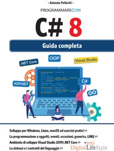 Programmare con C#8 - Guida completa Libro Cover