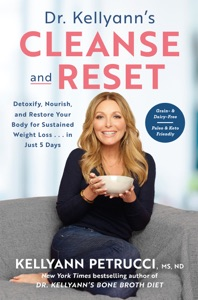 Dr. Kellyann's Cleanse and Reset Book Cover