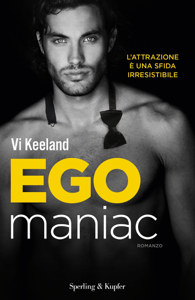 Egomaniac (versione italiana) Copertina del libro