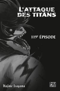 L'Attaque des Titans Chapitre 119 La couverture du livre martien