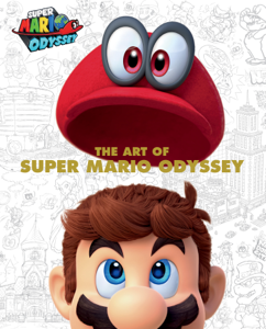 The Art of Super Mario Odyssey Copertina del libro