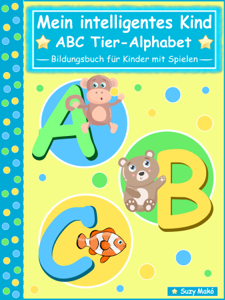 Mein intelligentes Kind - ABC Tier-Alphabet Buch-Cover