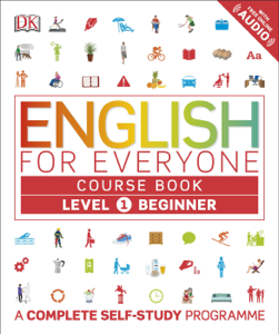 English for Everyone Course Book Level 1 Beginner Copertina del libro
