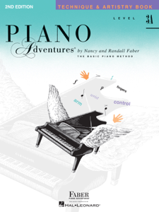 Piano Adventures : Level 3A - Technique & Artistry Book Book Cover
