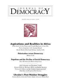 Aspirations and Realities in Africa: Ethiopia's Quiet Revolution