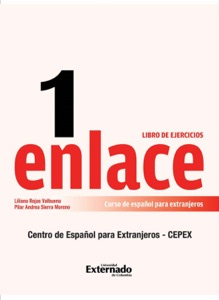 Enlace 1: Curso de español para extranjeros (Nivel básico) Libro de ejercicios Book Cover