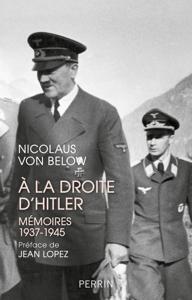 A la droite d'Hitler La couverture du livre martien