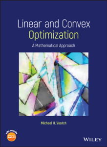 Linear and Convex Optimization Boekomslag