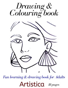 ADULT COLORING BOOK Book Cover