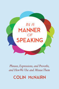 In a Manner of Speaking Book Cover