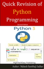 Quick Revision Of Python Programming