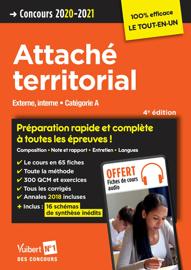 Concours Attaché territorial - Catégorie A - Préparation rapide et complète à toutes les épreuves !