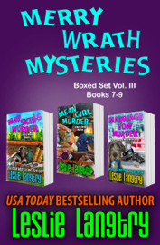 Merry Wrath Mysteries Boxed Set Vol. III (Books 7-9) book