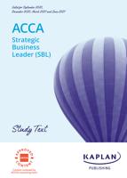 Kaplan Publishing UK - ACCA - Strategic Business Leader (SBL) artwork