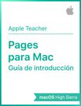 Guía de introducción de Pages para macOSHighSierra