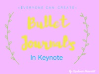 Everyone Can Create Bullet Journals with Keynote