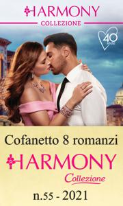 Cofanetto 8 Harmony Collezione n.55/2021 Libro Cover
