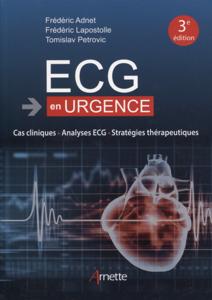 ECG en urgence La couverture du livre martien