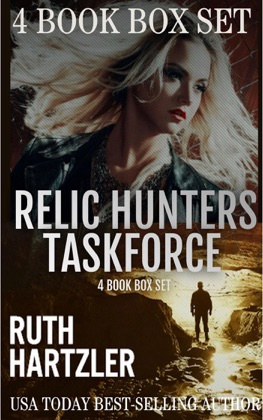 Relic Hunters Taskforce 4 Book Box Set