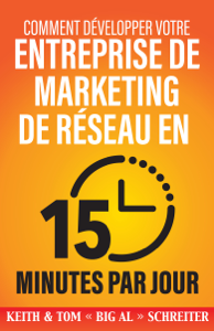 Comment Développer Votre Entreprise de Marketing de Réseau en 15 Minutes Par Jour La couverture du livre martien