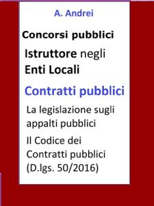 Contratti pubblici - Concorso Istruttore Enti Locali Copertina del libro