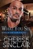 Cherise Sinclair - What You See kunstwerk