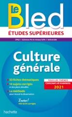 Bled Culture générale, examens et concours 2021