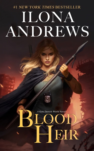 Blood Heir - Ilona Andrews book cover