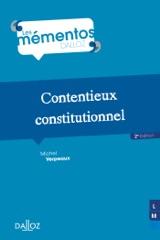 Contentieux constitutionnel - 2e ed.
