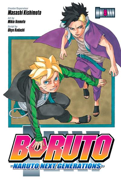 Boruto: Naruto Next Generations, Vol. 9