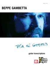 Beppe Gambetta Blu Di Genova - Guitar Transcriptions